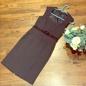 WHBM black formal office event dress